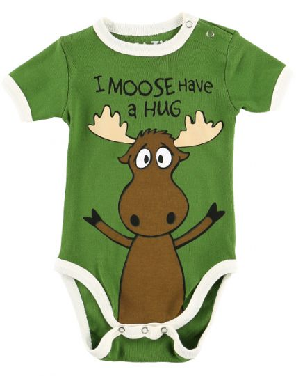 e02f9194fa9 LazyOne I Moose Have a Hug Boy Creeper – Little Monsters Boutique